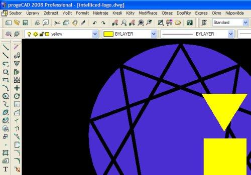 progeCAD - uživatelské rozhraní